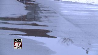 January thaw gives crews opportunity to repair potholes - Video