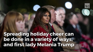 Melania Trump Wants People Across America To Do Something Different This Christmas - Video