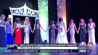 A new Miss South Florida Fair Winner - Video