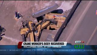 Worker's body recovered days after drilling rig collapse at Phoenix Sky Harbor Airport
