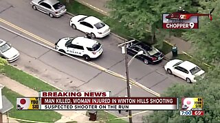 Man killed, woman wounded in Winton Hills shooting