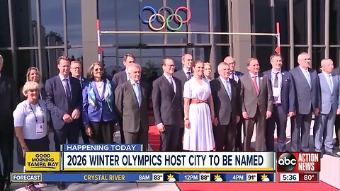 A look at the 2026 Winter Olympic bids in Monday's vote