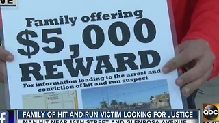 Family offering 5K reward for information after man involved in hit-and-run - Video