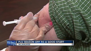 Doctors say flu season is off to good start