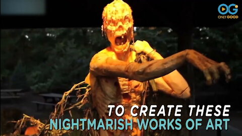 Master Pumpkin Carver Brings Ghoulish Zombies To Life
