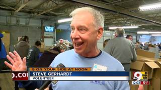 Cincinnati Thanksgiving tradition: St. Vincent de Paul hands out Thanksgiving meals - Video