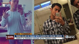 Teens killed in crash, driver arrested on DUI charges