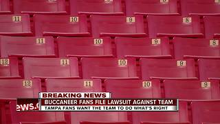 Exclusive: Class action lawsuit filed against Tampa Bay Buccaneers for revoking fans' season tickets - Video