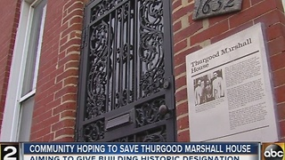 Thurgood Marshall's home is for sale - Video