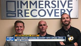 San Diegans leading recovery with opioid crisis - Video