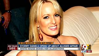 Stormy Daniels discusses alleged affair - Video