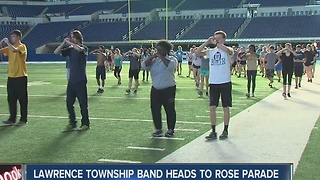 Lawrence Township band to play in Rose Parade in Pasadena - Video