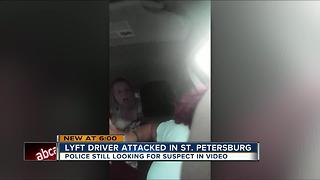 Police search for woman who attacked Lyft driver - Video