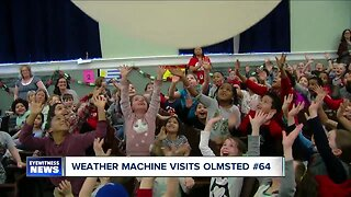 Andy Parker's Weather Machine Visits Olmsted #64