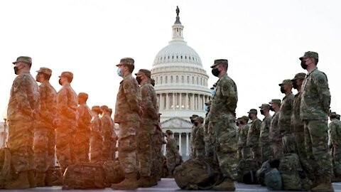 25,000 National Guard Troops Deployed To DC!
