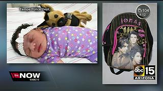 Tempe police still searching for parents of baby found abandoned in shopping cart - Video