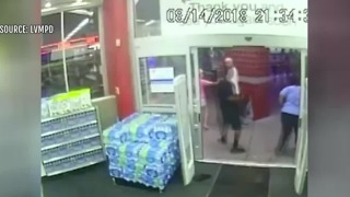 Man wanted for hitting Walgreens employee during theft