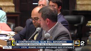 Controversial city gun bill advances, dividing community, City Council - Video