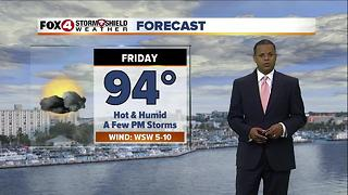 Hot & Humid With Occasional Storms - Video