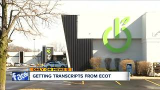 After ECOT's abrupt closure one month ago, some students still can't track down transcripts - Video
