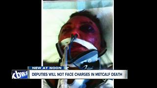 Erie County deputies will not face charges in controversial Metcalf death - Video