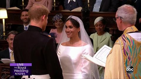 ROYAL WEDDING | Prince Harry and Meghan Markle are announced husband and wife