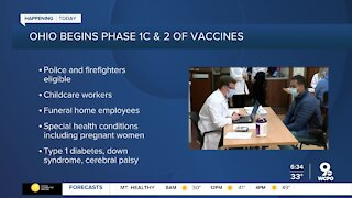 More Ohio residents eligible for the COVID-19 vaccine