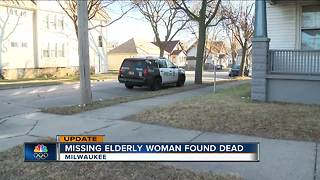 Medical Examiner: Missing 88-year-old Milwaukee woman found dead - Video