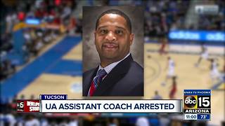 Arizona Wildcats coach Emanuel Richardson arrested on fraud, corruption charges - Video