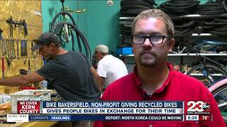 Bike Bakersfield helps people get around town - Video
