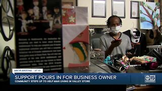 Support pours in for Valley business owner