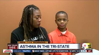Cincinnati Public Schools partner with doctors to help asthmatic students - Video