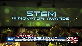 Flight Night gala tonight to raise money for STEM programs - Video