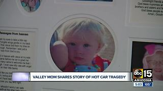 Mother whose child died in a hot car shares warning for others - Video
