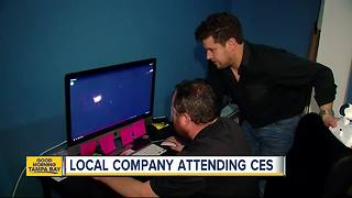 St. Petersburg company takes virtual reality headset camera to CES in Las Vegas - Video
