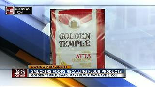 Flour recalled for possible E. coli contamination - Video