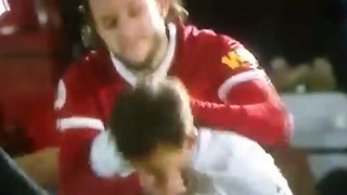 Liverpool Midfielder Adam Lallana CHOKES 19 Year Old Kid from Behind After Collision
