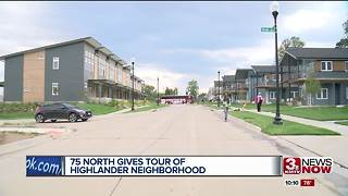 Hundreds in town for 75 North revitalization project - Video