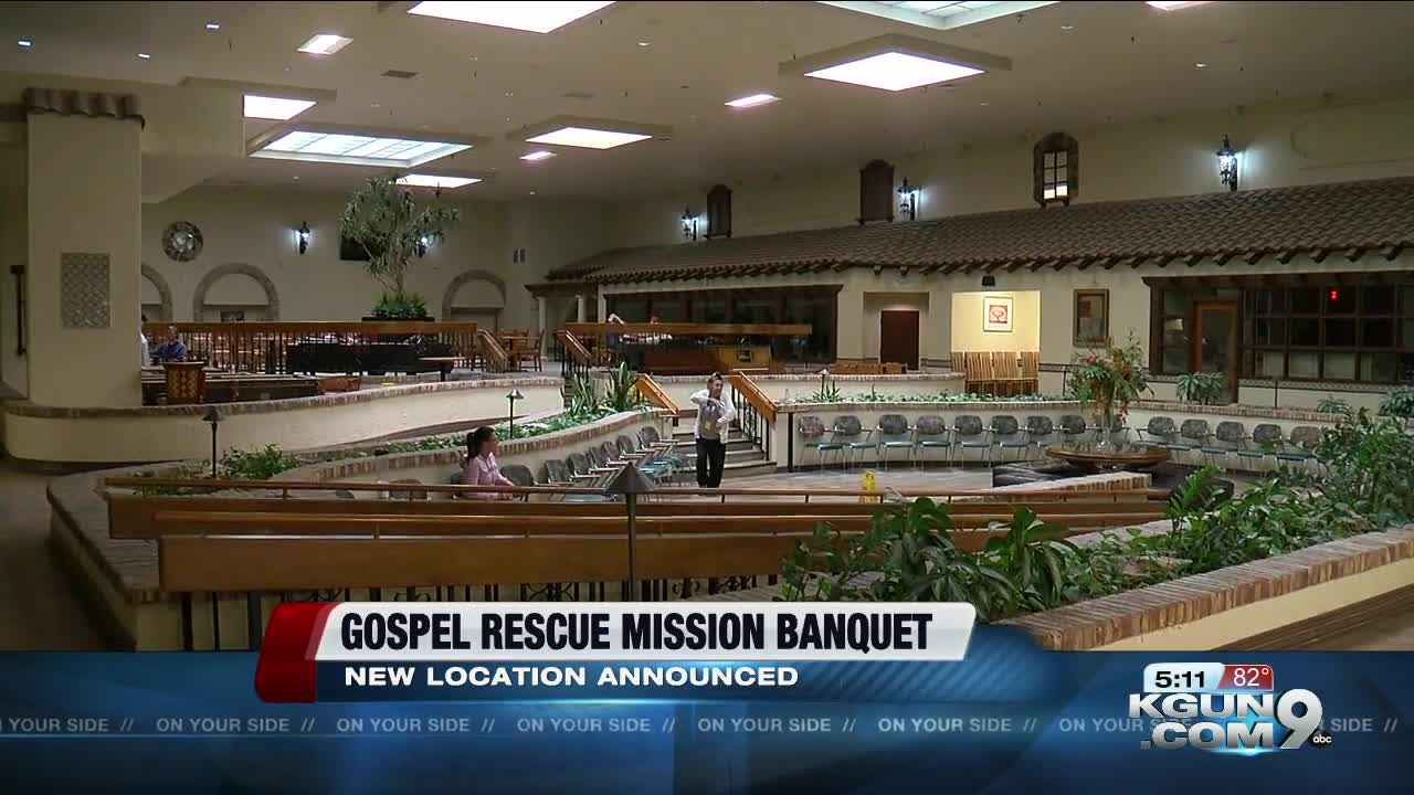 Gospel Rescue Mission hosts 31st annual thanksgiving banquet at new location