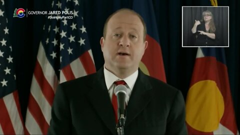 Gov. Polis' mother joins him to discuss importance of older Coloradans staying at home when possible