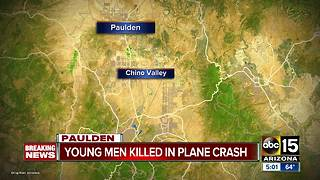 YCSO identifies 2 teens killed in Prescott plane crash - Video
