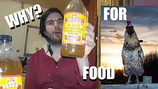Why Do You Need Organic Apple Cider Vinegar When Fermenting Grains?  - Video