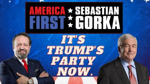 It's Trump's party now. Lord Conrad Black with Sebastian Gorka on AMERICA First