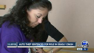 Auto thief sentenced for role in deadly crash - Video