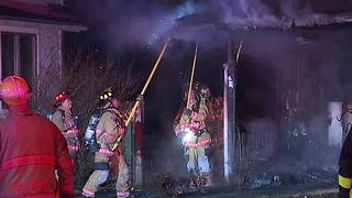 North Olmsted fire - Video