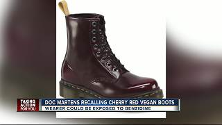 Dr. Martens recalls boots due to chemical exposure - Video
