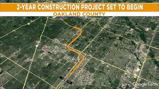 Construction set to being on I-75 in Oakland County