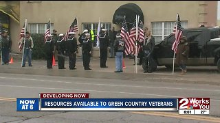 Resources available to Green Country veterans