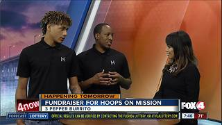 Hoops on Mission fundraiser for travel basketball - Video