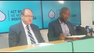 'We cannot afford to lose momemtum now' - Maimane on water crisis (hH5)